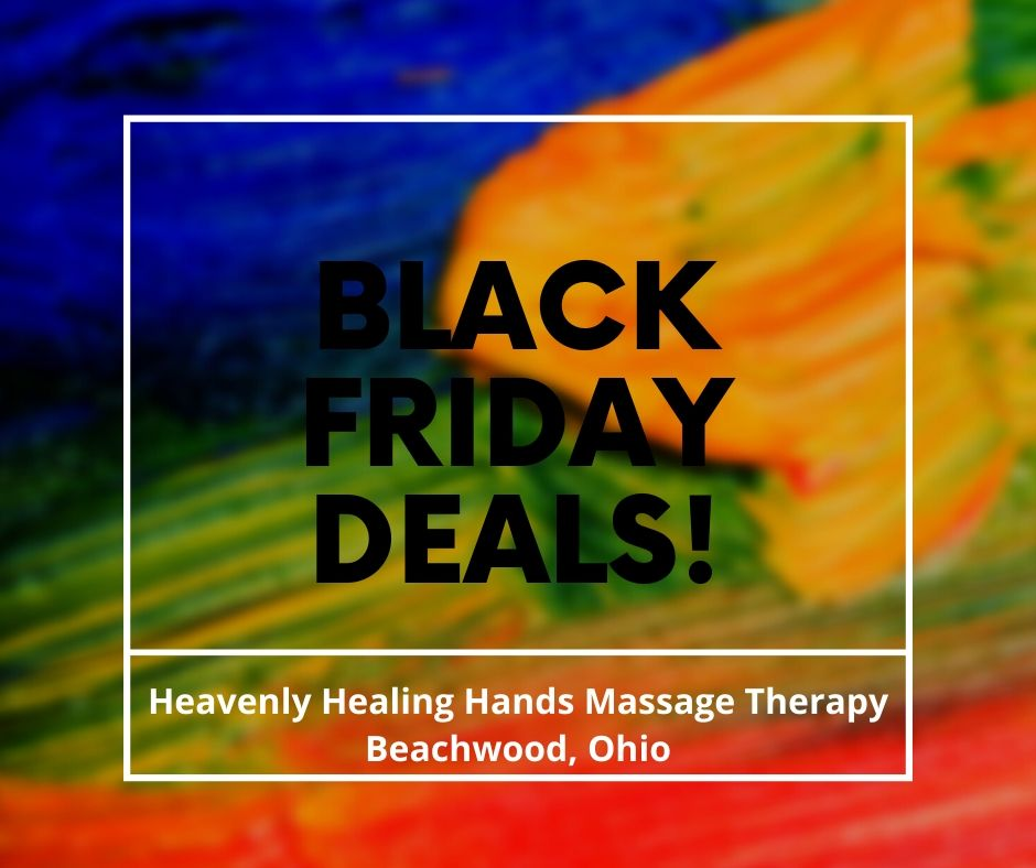 Black Friday massage deals